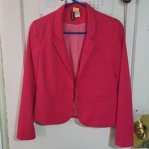 Hot pink blazer